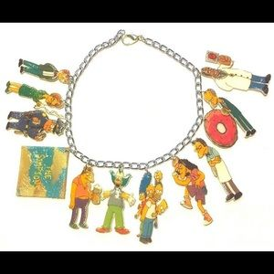 The Simpsons Charm Bracelet One of a kind